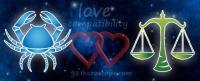 Love Compatibility – Cancer Man & Libra Woman