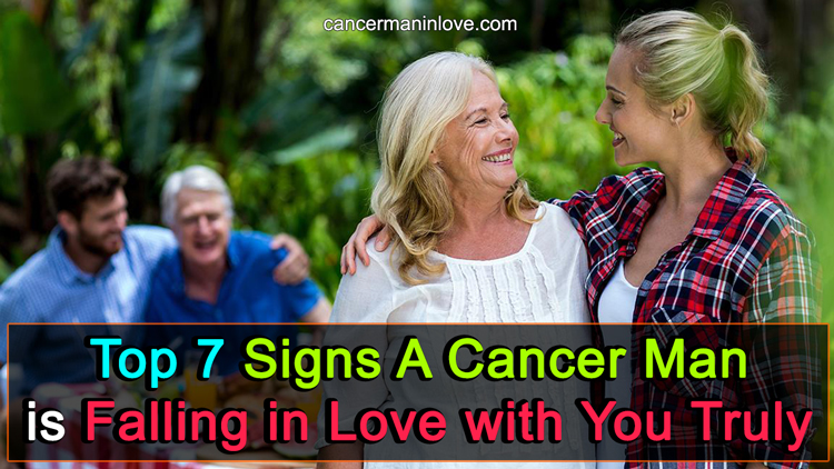 Man love with cancer in a signs you is 5 Clear